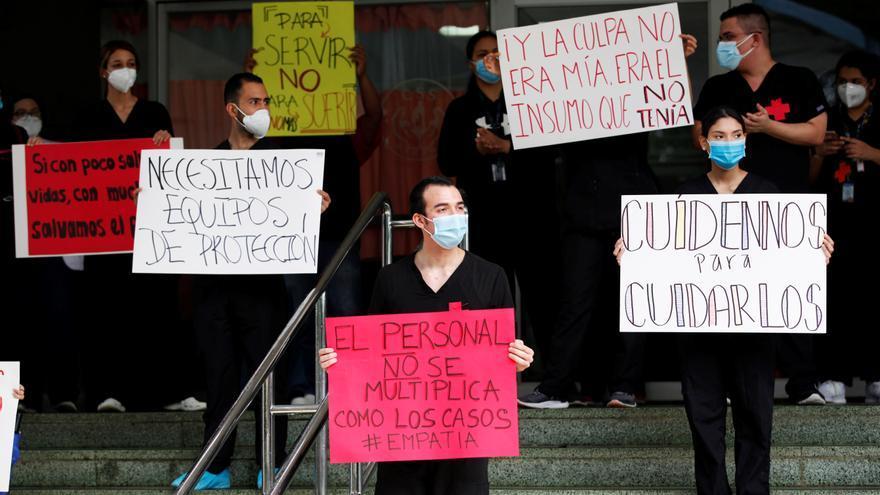 """Panamá llega a mil muertes por la COVID y decreta un día de """"reflexión nacional"""""""