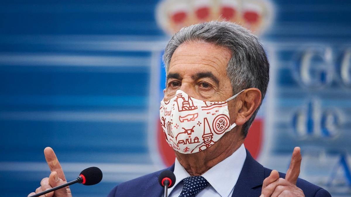 Archivo - Miguel Ángel Revilla presidente de Cantabria