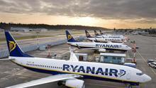 Aviones de la compañía Ryanair