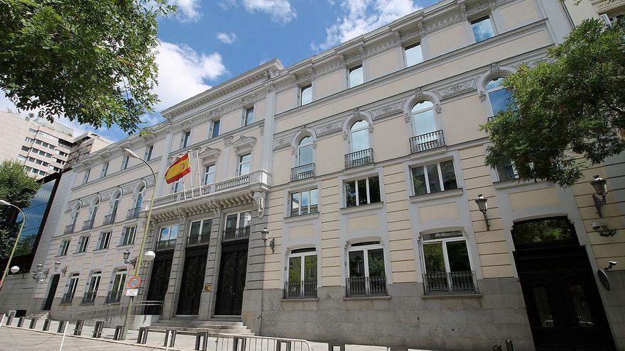 Sede del Consejo General del Poder Judicial de Madrid