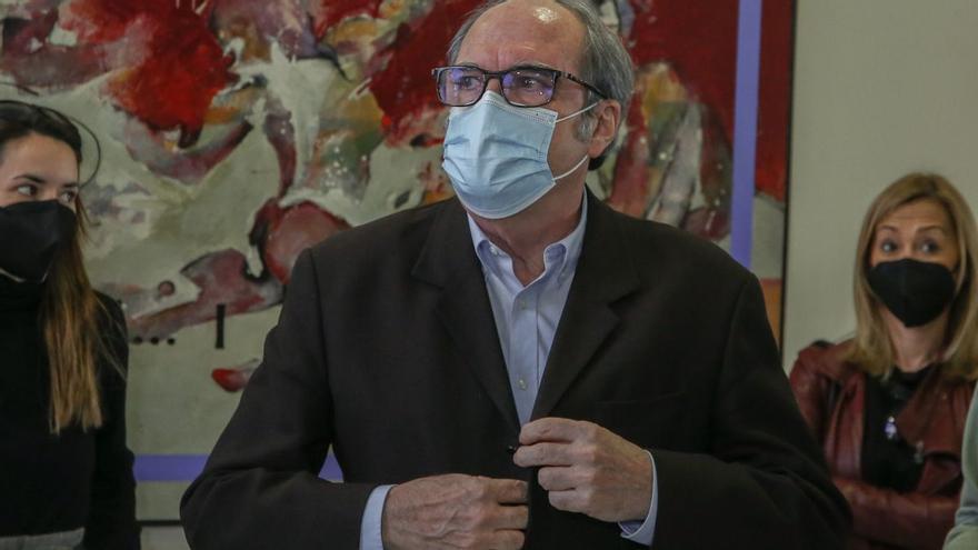 El candidato del PSOE, Ángel Gabilondo