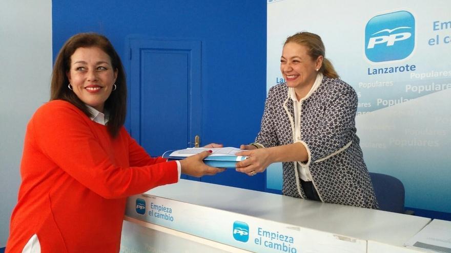 Astrid Pérez opta a ser reelegida presidenta del PP de Lanzarote