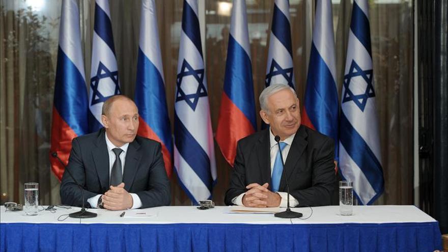 Putin se reúne con Netanyahu para hablar de Oriente Medio y Siria