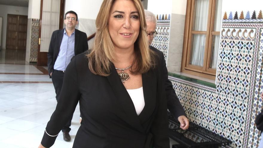 Susana Díaz asistirá el jueves en Madrid al desfile del 12 octubre