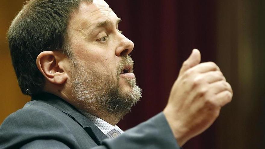 Junqueras exige la dimisión del ministro y del director de Oficina Antifraude