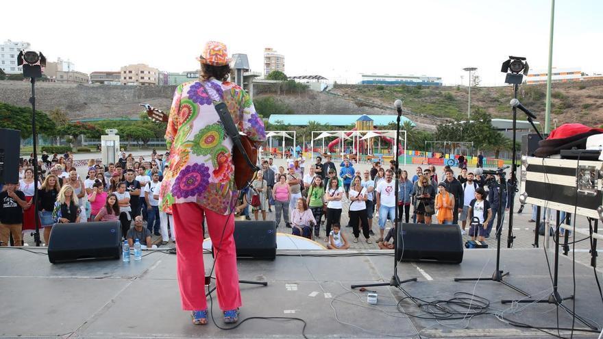 Festival contra la Ley del Suelo. (ALEJANDRO RAMOS)