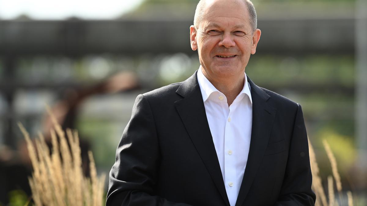 El candidato del SPD, Olaf Scholz.