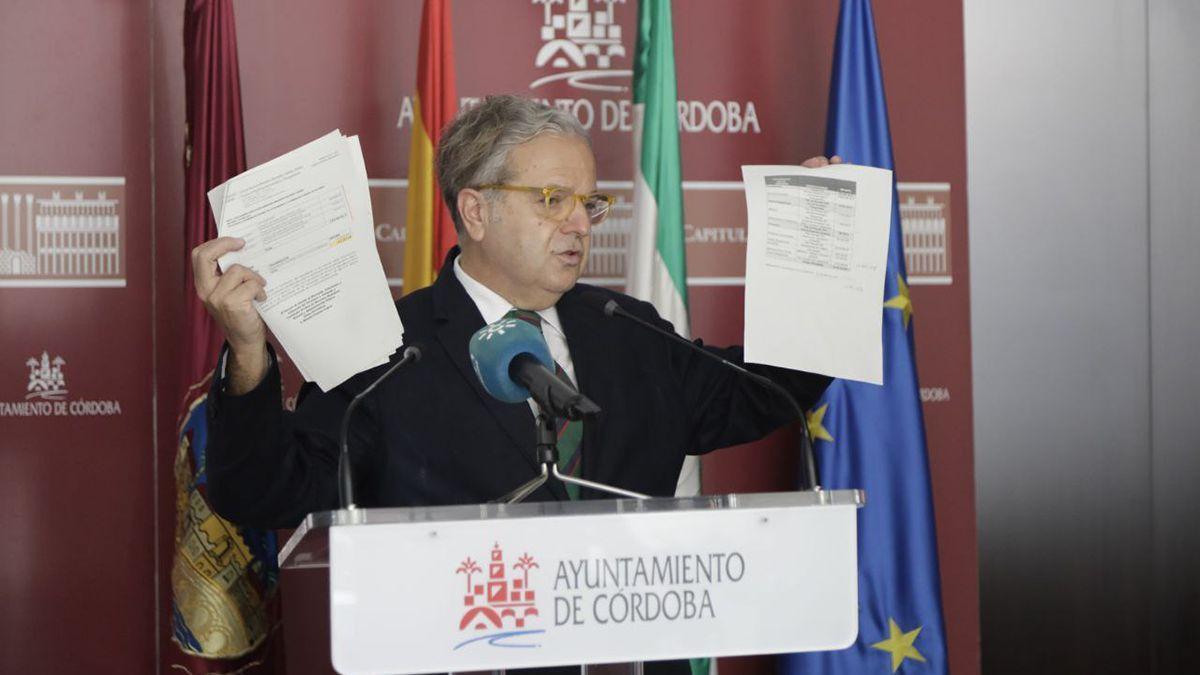 El teniente de alcalde de Hacienda, Salvador Fuentes.