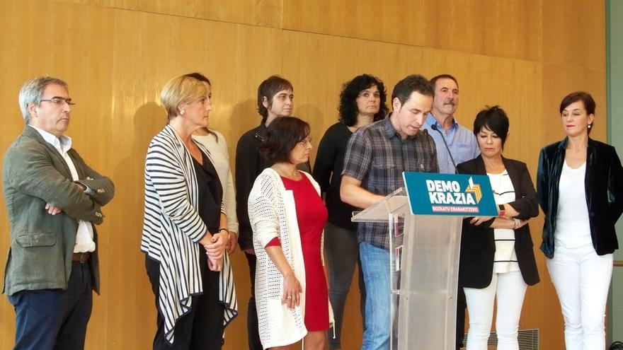 El PNV estará en la manifestación de este sábado de Gure Esku Dago en Bilbao en favor del referéndum catalán
