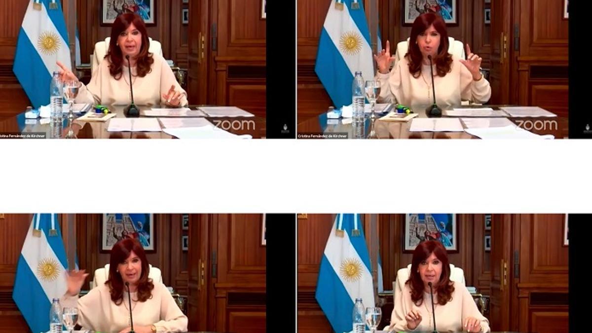 De las cadenas nacionales al zoom con alto rating televisivo. Cristina expuso en la causa de Dólar Futuro.