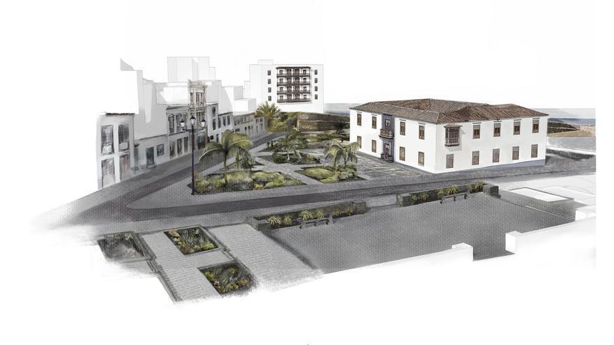 Imagen del proyecto Artillero, realizado por el arquitecto de origen palmero Javier de Mingo y Carmen Bueno.