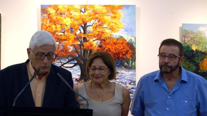 La autor junto a Joaquín Castro San Luis y Juan Felipe Torres Expósito.