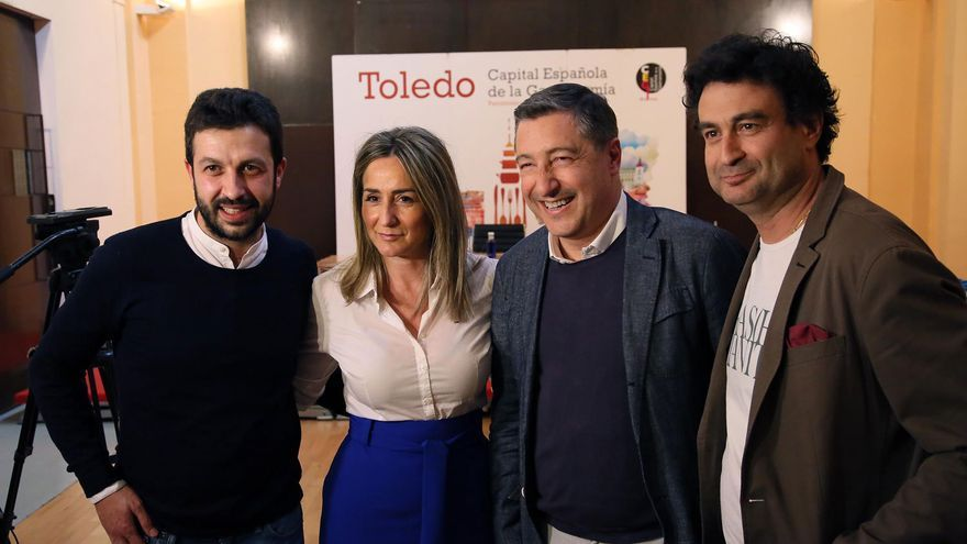 Iván Cerdeño, Milagros Tolón, Joan Roca y Pepe Rodríguez