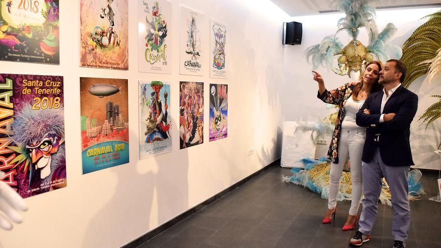 Presentación de las 10 obras finalistas, con el alcalde José Manuel Bermúdez
