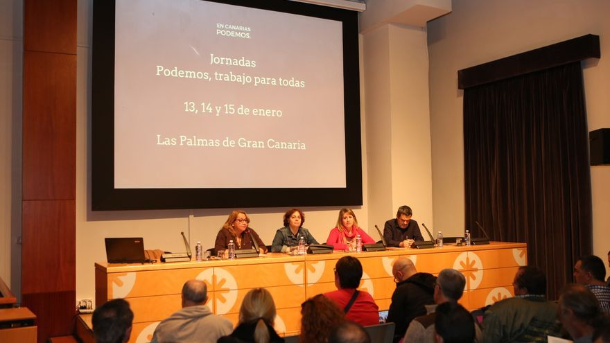 Celebración de las jornadas 'Podemos, trabajo para todas' (ALEJANDRO RAMOS)