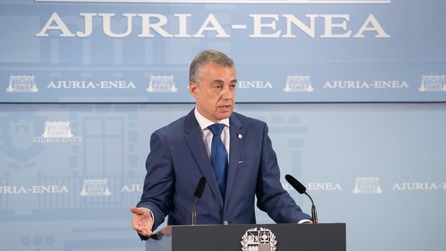 """Urkullu cree """"desproporcionada"""" la medida de Rajoy y muestra su apoyo al Govern para buscar un futuro constructivo"""