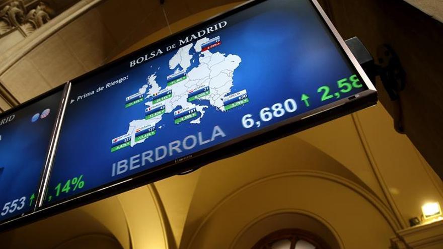 La prima de riesgo española cae a 127 puntos pese a la subida de los bonos