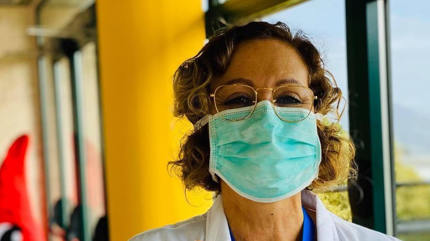"""Mercedes Coello: """"Recuerdo que hay una pandemia y el sistema sanitario está exhausto"""""""