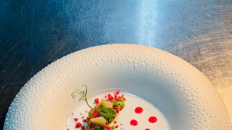 Uno de los platos de chef Mario Cachinero