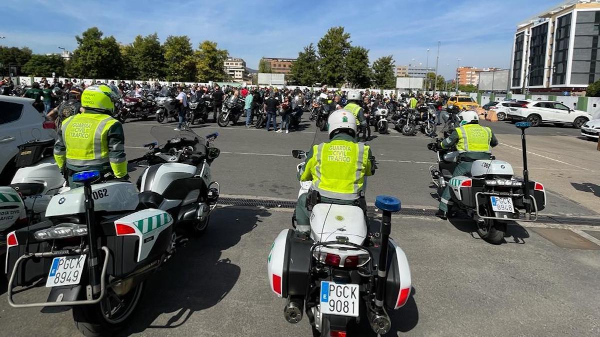 I Marcha Motera de la Guardia Civil.