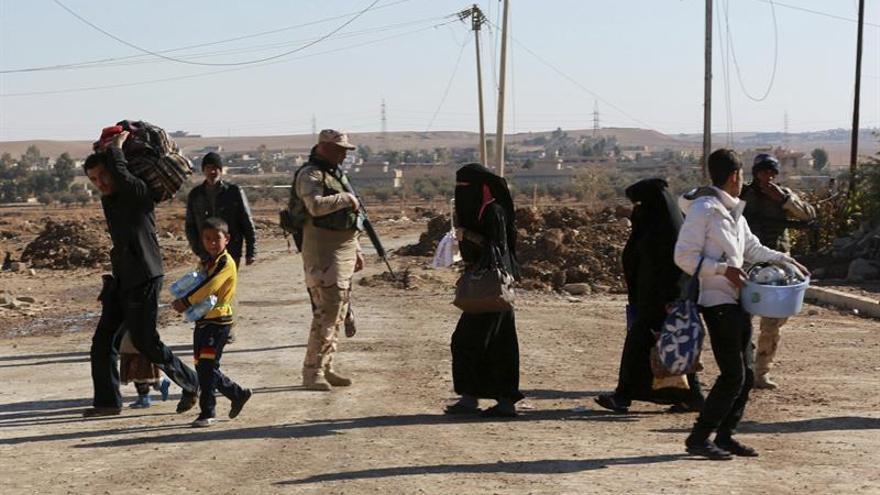 Los hospitales de Erbil están desbordados ante la gran cantidad de heridos por la ofensiva de Mosul