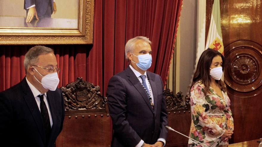 Cs se hace con el ayuntamiento de Badajoz tras un acuerdo de alternancia con PP