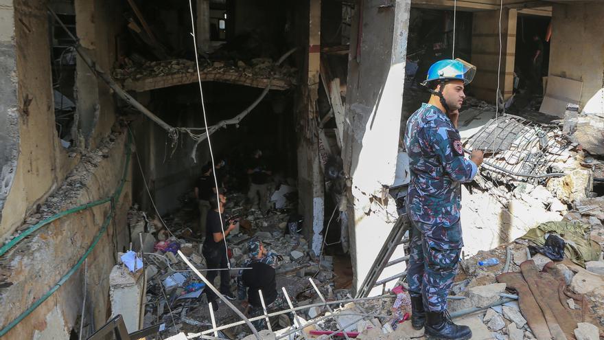 Un muerto y dos heridos en otra explosión en el centro de Beirut