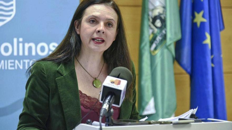 Maribel Tocón, en la presentación del informe