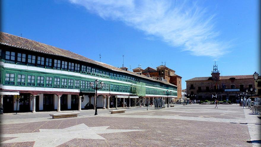 Plaza Mayor de Almagro, una de las ciudades de los siglos XVI y XVII mejor conservadas de España. Carlos Cuerda