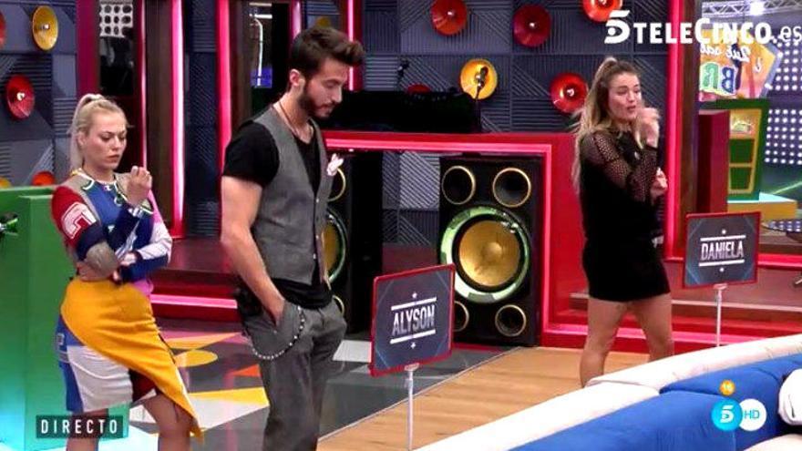 Marco Ferri pide la expulsión de Alyson en 'GH VIP'