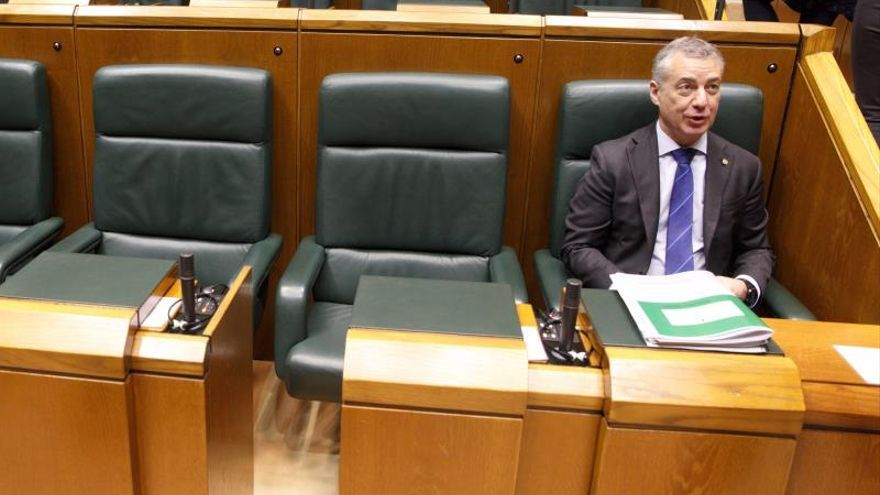 Urkullu, en el Parlamento Vasco