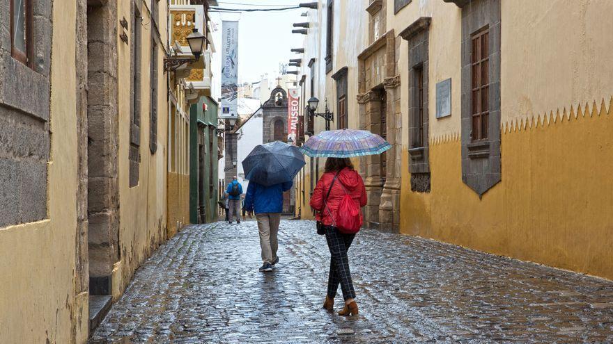 Cielos nubosos y lluvias débiles este martes en Canarias