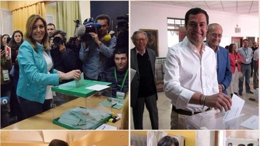 PSOE-A lograría entre 18-21 escaños, PP-A de 16 a 22 y C's de 11 a 13 según sondeos de Joly, 'ABC' y 'El Mundo'