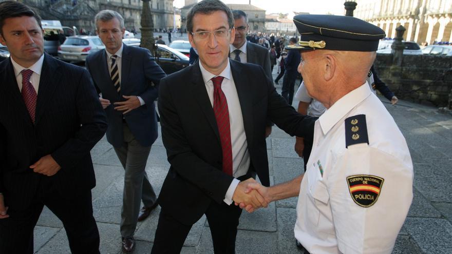 """Feijóo defiende el autonomismo como herramienta que permite a Galicia """"mejorar"""" los servicios públicos pese a la crisis"""
