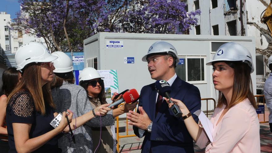El alcalde del Ayuntamiento de Las Palmas de Gran Canaria, Augusto Hidalgo
