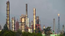 Vista general de la refinería Miguel Hidalgo, de Petróleos Mexicanos (Pemex), en la ciudad de Tula, en el estado de Hidalgo (México).