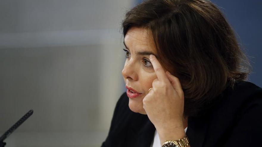 """S. Santamaría ve """"puntos de acuerdo suficientes para avanzar"""" hoy con Rivera"""