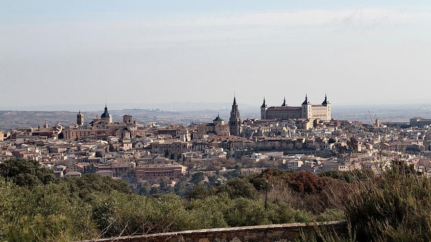 Toledo desde la Quinta Mirabel