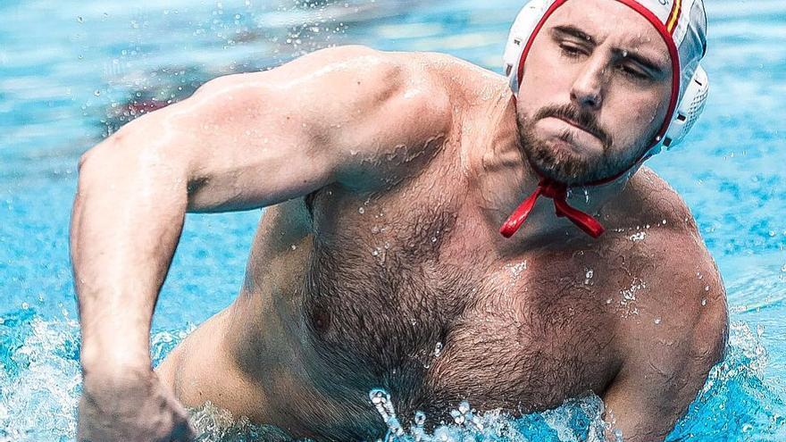 El waterpolista español Víctor Gutiérrez.