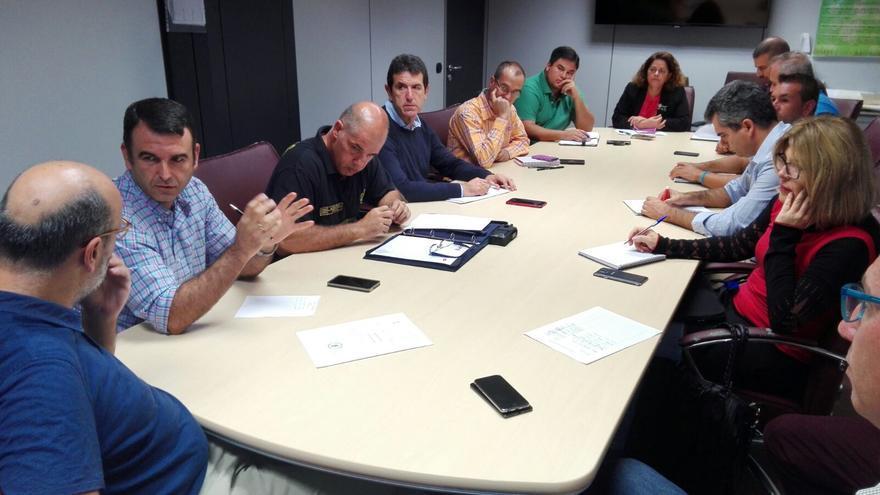 Reunión del comité comité asesor del Plan de Emergencias Insular