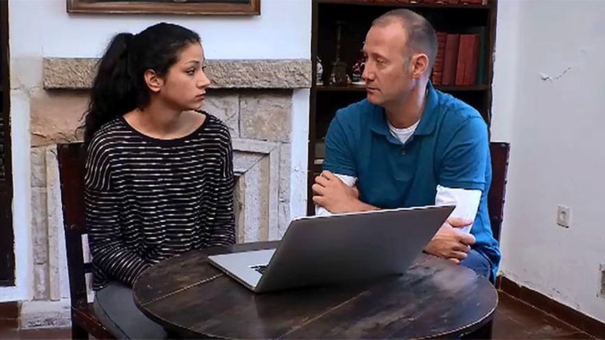 Dakota y Pedro García Aguado en 'Hermano Mayor'