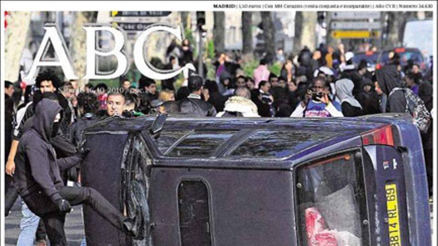 De las portadas del día (16/10/2010) #1