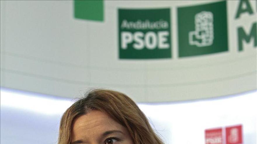 La presidenta del Comité Federal del PSOE, Verónica Pérez.