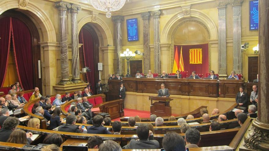 Arrimadas (C's), Iceta (PSC) y Albiol (PP) preguntan a Mas si desacatará la decisión del TC