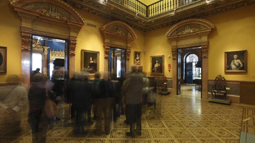 Sala de baile del Museo Lázaro Galdiano de Madrid.