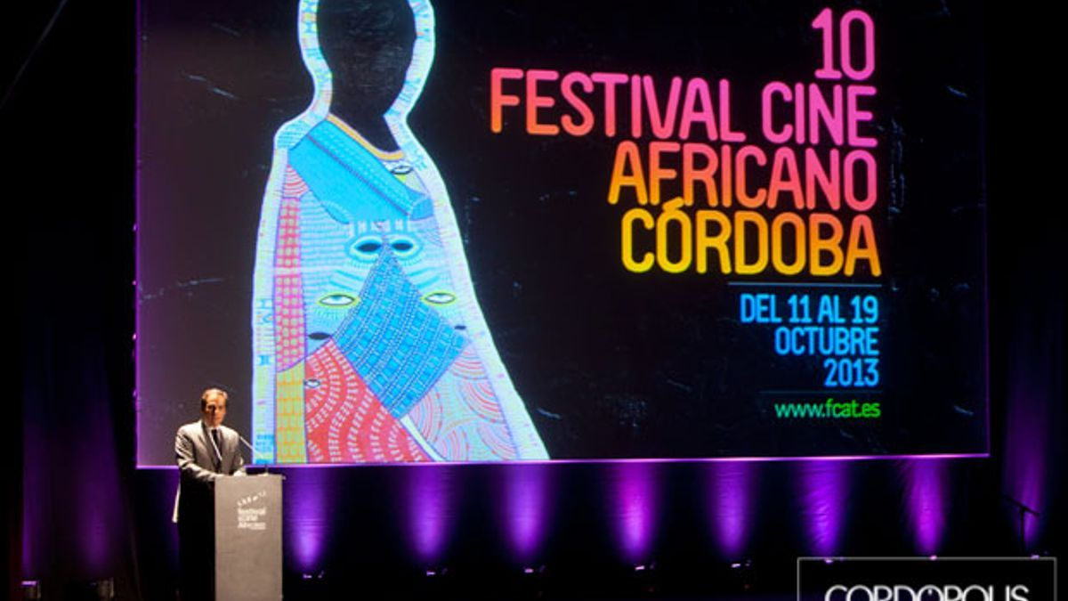 Gala inaugural del 10º Festival de Cine Africano, en 2013.