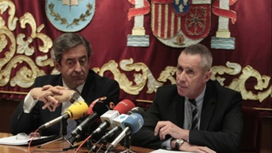 Francois Molins Y Javier Zaragoza