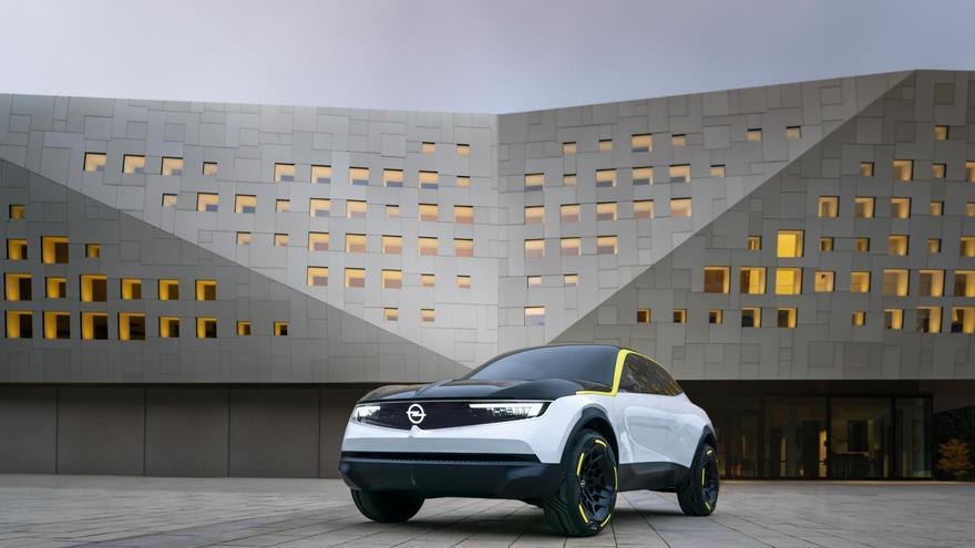 Opel GT X Experimental.