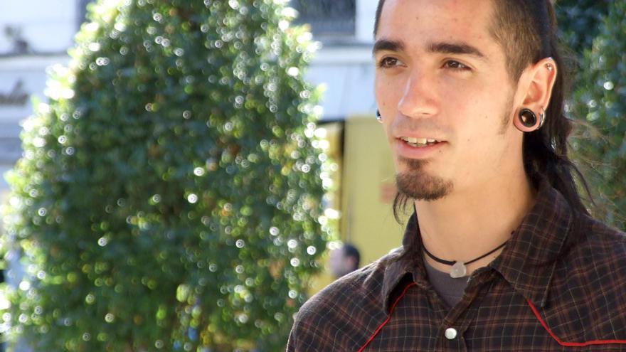 Rodrigo Lanza, una de las víctimas de tortura y malos tratos que aparece en el documental Ciutat Morta. © AI