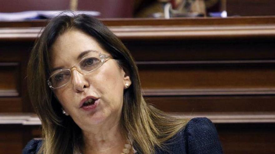 Brígida Mendoza, consejera de Sanidad del Gobierno de Canarias. Efe.